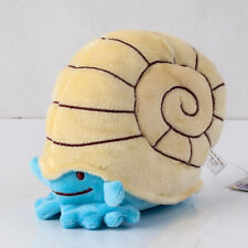 Pokemon Center Ditto Omanyte 5 inch Soft Plush Stuffed Doll Animals Kids Gift
