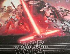 Disney Star Wars Shower Curtain The Force Awakens Microfiber 72 X 72 New