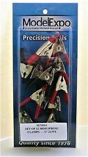 """Model Expo Tools. Set Of 12 Mini Spring Clamps 3/4"""" Jaws. Item# MT1014. NEW."""