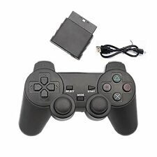 3 IN 1 Wireless Game Controller Handle Gamepad For PC PS2 PS3 (Black)