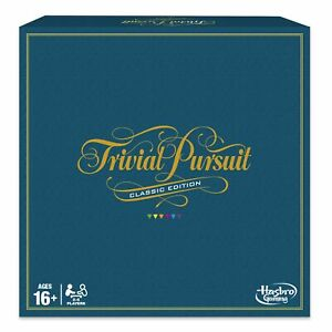Trivial Pursuit Board Game Classic Edition NEW