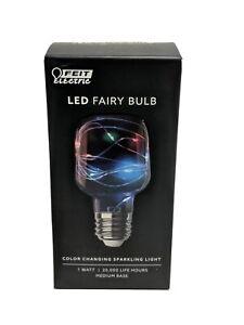 Feit Electric Fairy Cylinder E26 (Medium) Led Bulb Multi-Colored 1 Pk