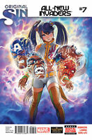 All New Invaders #7 Original Sin Marvel now comic 1st print 2014 NM