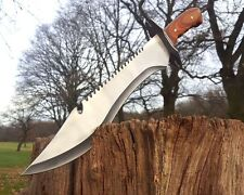 Machete tomahawk Hunting Knife Bowie hacha hacha busch cuchillo Costello macete