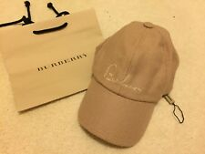 Burberry Cap cashmere, kids, one size, made in UK.