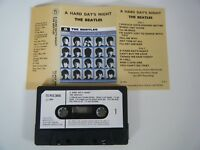THE BEATLES A HARD DAY'S NIGHT CASSETTE TAPE 1964 PAPER LABEL PARLOPHONE EMI UK