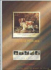 wbc. - GB - ROYAL MAIL POSTERS - A4 - 1991 - DOGS - MINOR FAULTS
