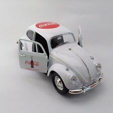 Coca-Cola '67 Volkswagen Beetle (1:24 Scale & 100 Year Anniversary) - BRAND NEW