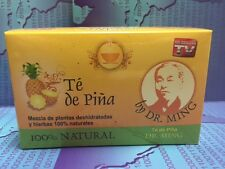 1 BOX DR MING PINA Pineapple Tea (30 Bags) Dr  Ming Chinese Weight Loss Te de