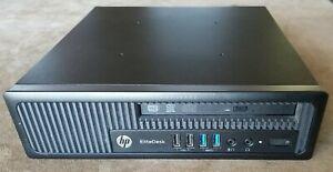HP EliteDesk 800 G1 USDT i7-4770S 3.1 GHz +DVD-RW, AC, Caddy **No HDD, OS, RAM