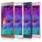 """Blanc 5.7"""" Samsung Galaxy Note4 N910A téléPhone débloqué 32GB 4G LTE 16MP"""