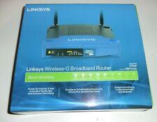 Linksys WRT54GL 54 Mbps 4-Port 100 Mbps Funk Router (WRT54GL-DE) NEU