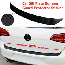 Universal Carbon Fiber Car Sill Plate Bumper Guard Protector Sticker Accessories