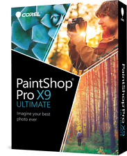 Corel PaintShop Pro X9 Ultimate - Brand New Retail Box