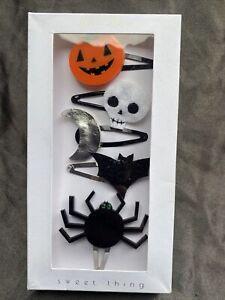 Meri Meri Pack Of 5 Sweet Thing Halloween Themed Hair Clips - 752