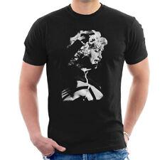 Madonna estadio de Wembley rubia ambición Tour 1990 Para hombres Camiseta