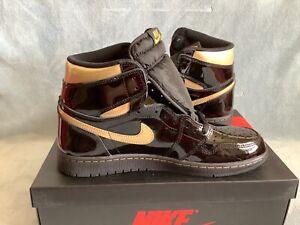 "Nike Air Jordan 1 Retro High OG ""Black Patent"" 555088-032 Size 11"