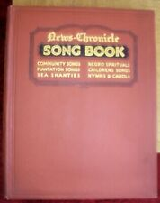 Vintage News-Chronicle Song Book T.P. Ratcliff Various genres included