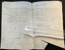 KING LOUIS XIII AUTOGRAPH - 31 DECEMBER 1626  LOUIS XIII König von Frankreich