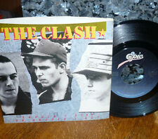"""*<* CLASH SMASH """"SHOULD I STAY OR SHOULD I GO"""" CLEAN M- GEM 45 w/PICTURE SLEEVE!"""