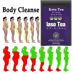 TLC Iaso INSTANT Detox & Weight Loss Tea Fat Burnning NEW SEALED PACKETS