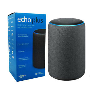 Amazon Echo Plus 2nd Generation Built-In Smart Home Hub - Charcoal Black