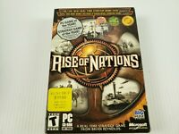 Rise Of Nations Video Game PC