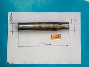 Tige de selle vintage ancien stock diamètre  25,4 mm L340  acier pour vélo 25.4