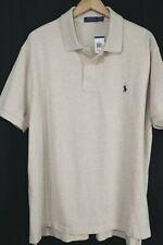 NWT Polo Ralph Lauren Mens 2XLT Dune Sand Mesh Short Sleeve Shirt