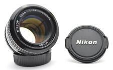 Nikon Nikkor 1,4 / 50 mm Ais Mount Standard MF Prime Objektiv Lens + Cap f68