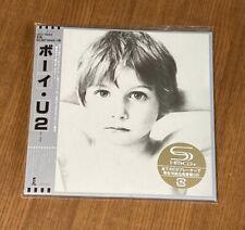 U2 - BOY - JAPAN MINI LP SHM-CD BRAND NEW UICI-9055