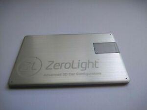 Zerolight Advanced 3D Car Configurators Press Media Photos USB Pen Drive 2015