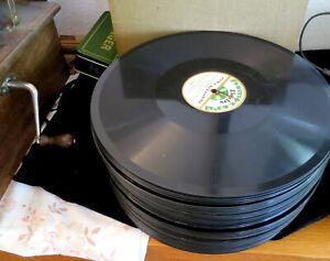 """54 12"""" Schellackplatten Klassik deutsche Sammlung 78 rpm Schellack Grammophon"""