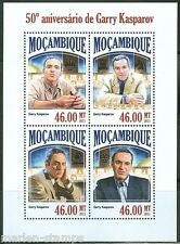 MOZAMBIQUE 2013 50th BIRTH ANNIVERSARY OF GARRY KASPAROV SHEET MINT NH