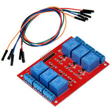 5V Six 6 Channel Relay Module with jumper wire for Arduino AVR PIC ARM