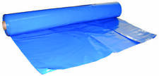 Boat ShrinkWrap, Marine, Construction 12'x149'-7mDIY  Blue