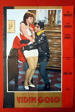 VEDO NUDO SEXY SYLVA KOSCINA VERONIQUE VENDELL ITALIAN 1969 EXYU MOVIE POSTER
