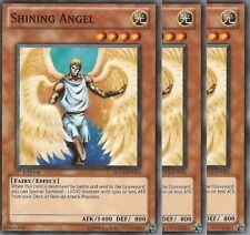3 X YU-GI-OH: SHINING ANGEL - SDLS-EN015  - 1st ED