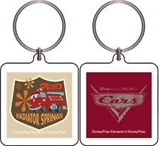 Disney Cars Radiator Springs Square Keychain Retro New birthday party supply