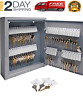 60 Key Security Storage Safe Cabinet Lock Box Wall Mount Holder Organizer Rack