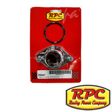 RPC CHROMED ALLOY 180° THERMOSTAT HOUSING CHEV SMALL BLOCK 283 - 350 RPCR9647