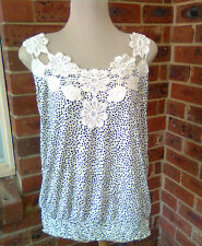 BRAND NEW WITH TAGS CROCHET PANEL TOP SIZE XL