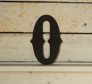 "4"" Metal Number-House Numbers-Address Number-Western Number-Mailbox Number-F1004"