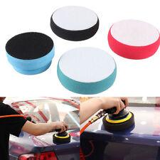 3x Foam Sponge Applicator Pad Clean Car Vehicle Glass Waxing Polish Wax Ball Set