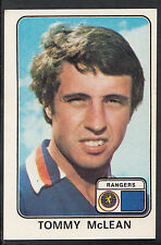 Panini football 1979 sticker-nº 577-tommy mclean-rangers