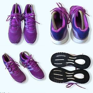 Adidas Durano 6 Ladies Trainers Purple Running Shoes - Used UK 5, Used VGC