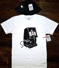 OBEY LOT OF 2 RARE- Obey Unplugged Tee T-shirt Size Small & Comstock Bucket Hat