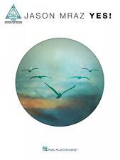 Jason Mraz Yes Sheet Music Guitar Tablature Book NEW 000129884