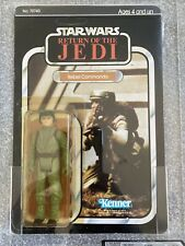 Uk Graded 70 Star Wars ROTJ Rebel Commando MOC Kenner 77 Back