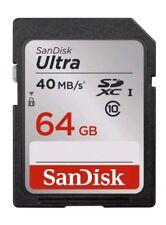 64GB SanDisk Ultra SDXC Flash Memory Card Class 10 - New UK Seller